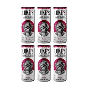 Luke's Hard Seltzer Cherry 33cl, 6er-Pack