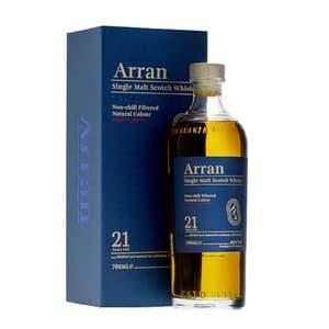 The Arran 21 Years Single Malt Whisky 70cl