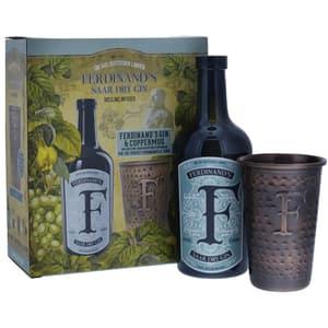 Ferdinand's Saar Dry Gin Set mit Kupferbecher