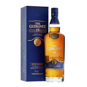 The Glenlivet 18 Years Single Malt Whisky 70cl