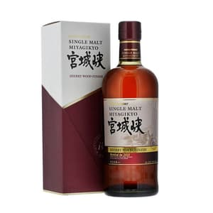 Nikka Miyagikyo Single Malt Whisky Sherry Wood Finish 70cl