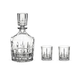 Spiegelau Perfect Serve Collection Whisky Set, dreiteilig