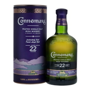 Connemara Irish Peated Malt 22 Years 70cl