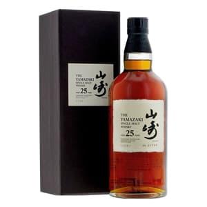 The Yamazaki 25 Years Single Malt Whisky 70cl
