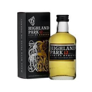 Highland Park 12 Years Single Malt Whisky 5cl