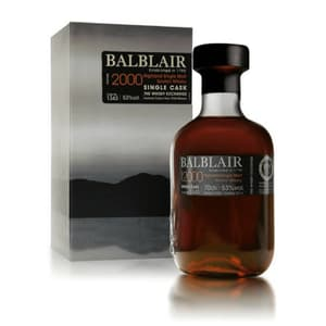 Balblair 2000 Single Malt Whisky Single Cask 70cl