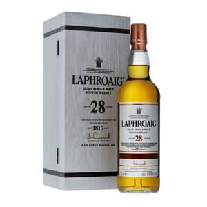 Laphroaig 28 Years Single Malt Whisky 70cl