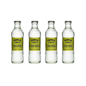 Franklin&Sons Indian Tonic Water 20cl Pack de 4
