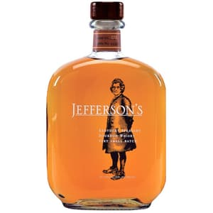Jefferson's Very Small Batch Bourbon Whiskey 75cl