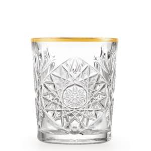 Libbey Hobstar D.O.F. Glas mit Goldrand 35.5cl