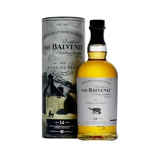 The Balvenie The Week of Peat 14 Years Single Malt Whisky 70cl