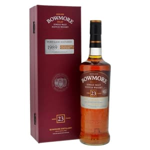 Bowmore 23 Years Old Malt Whisky 1989 Port Cask Matured 70cl