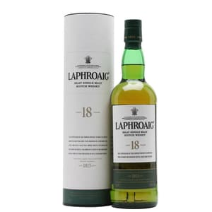 Laphroaig 18 Years Single Malt Whisky 70cl