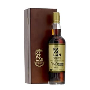 Kavalan Solist Single Malt Fino Sherry Cask in Holzkiste 70cl 57%