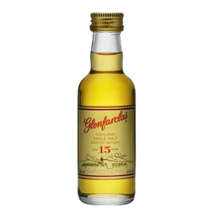 Glenfarclas 15 Years Single Malt Whisky 5cl