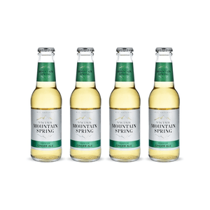 Swiss Mountain Spring Ginger Ale 20cl 4er Pack