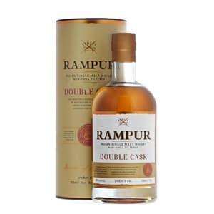 Rampur Double Cask Single Malt Whisky 70cl