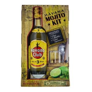Havana Club 3 Años Mojito-Kit 70cl