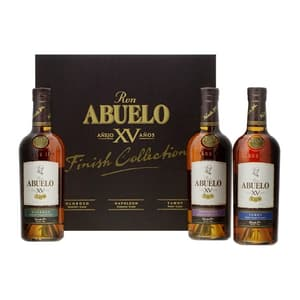 Abuelo XV Rum Collection Set 3x 20cl