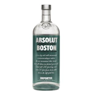 Absolut Vodka Boston Limited Edition 100cl
