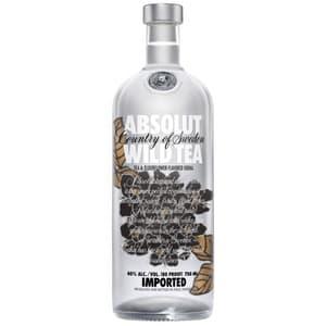 Absolut Wild Tea Vodka 100cl