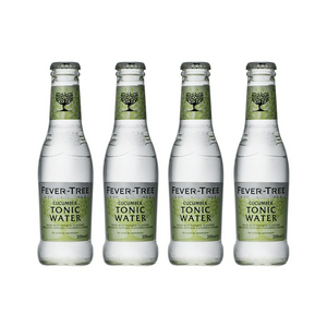 Fever-Tree Cucumber Tonic Water 20cl, Pack de 4