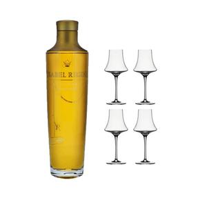 Ysabel Regina avec 4 Spiegelau Verres à Cognac
