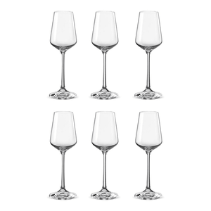 Bohemia Crystal Glass Sandra Liqueur 6.5cl, 6er-Set
