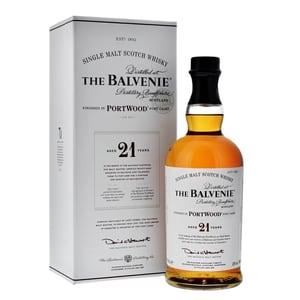 The Balvenie 21 Years Port Wood Single Malt Whisky 70cl
