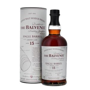 The Balvenie 15 Years Single Barrel Sherry Cask Single Malt Whisky 70cl
