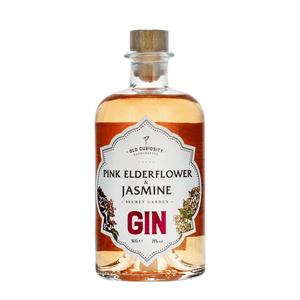 Old Curiosity Secret Garden Pink Elderflower & Jasmine Gin 50cl
