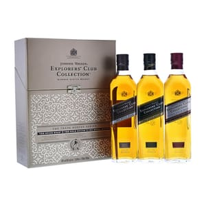 Johnnie Walker Explorer's Club Collection Set 3x 20cl