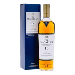 The Macallan 15 Years Double Cask Single Malt Whisky 70cl