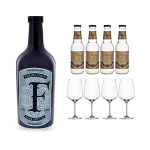Ferdinand's Saar Dry Gin, Set à Gin Tonic