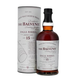 The Balvenie 15 Years Single Barrel Sherry Cask Single Malt Whisky 70cl