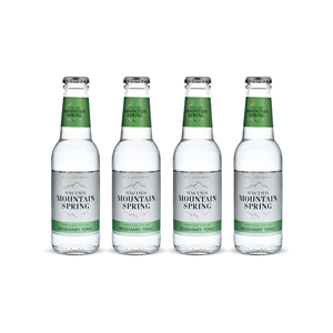 Swiss Mountain Spring Tonic Water Rosemary 20cl Pack de 4