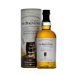 The Balvenie The Sweet Toast of American Oak 12 Years Whisky 70cl