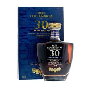 Centenario Rum Edicion Limitada 30 Años Sistema Solera 70cl
