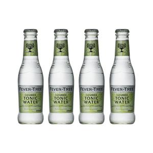 Fever-Tree Cucumber Tonic Water 20cl, Pack de 4