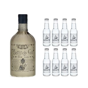 Ableforth's Bathtub Old Tom Gin 50cl avec 8x Gents Tonic Water