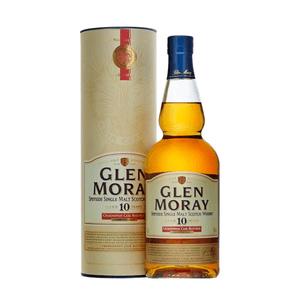 Glen Moray 10 Years Chardonnay Cask Single Malt Whisky 70cl