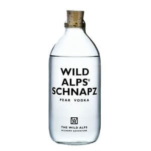 The Wild Alps Schnapz Pear Vodka 50cl