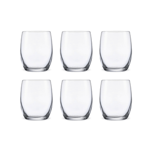 Bohemia Crystal Glass Club O.F. Whiskyglas 30cl, 6er-Set