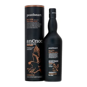 AnCnoc Peatheart Single Malt Whisky 70cl