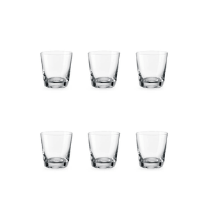 Bohemia Crystal Glass Jive O.F. Whiskyglas 33cl, 6er-Set