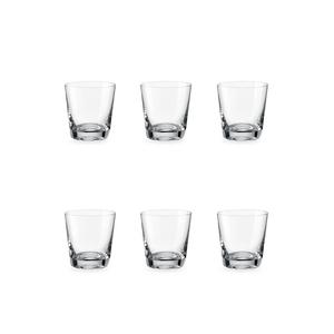 Bohemia Crystal Glass Jive O.F. Whiskyglas 33cl, 6er-Set