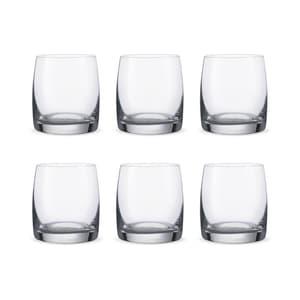 Bohemia Crystal Ideal D.O.F. Verre à Whisky 29cl, Ensemble de 6