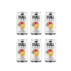 BULL Hard Seltzer Mango 33cl, 6er-Pack