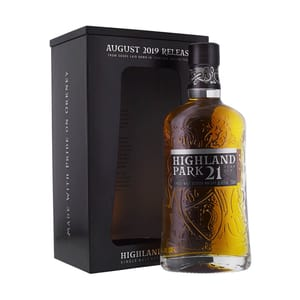 Highland Park 21 Years  August 2019 Release Single Malt Whisky 70cl
