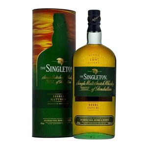 Singleton of Glendullan Double Matured Single Malt Whisky 100cl